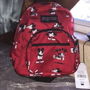 68e85bc2719 Jansport Bags - NWT Disney s Mickey Jansport Mini Backpack!